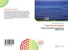 Bookcover of Cape Barren Goose