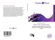 Обложка 1983 VFL Grand Final