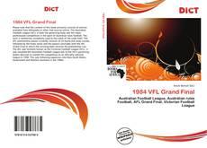 1984 VFL Grand Final kitap kapağı