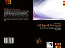 ACC Baseball Tournament kitap kapağı