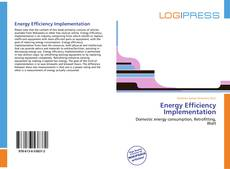 Bookcover of Energy Efficiency Implementation