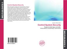 Control System Security的封面