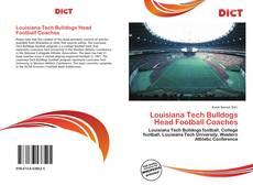 Borítókép a  Louisiana Tech Bulldogs Head Football Coaches - hoz