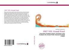 1987 VFL Grand Final kitap kapağı