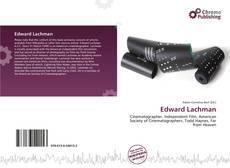 Portada del libro de Edward Lachman