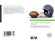 Portada del libro de Alma Scots Head Football Coaches