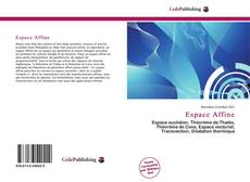 Bookcover of Espace Affine
