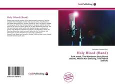 Capa do livro de Holy Blood (Band)