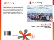 Bookcover of Cape Gannet