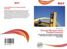 Обложка Chicago Maroons Head Football Coaches