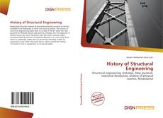 Bookcover of History of Structural Engineering