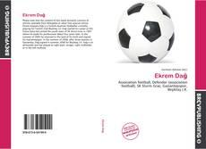 Capa do livro de Ekrem Dağ