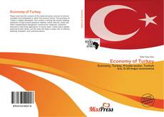 Capa do livro de Economy of Turkey