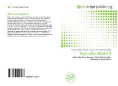 Buchcover von Australian Bustard