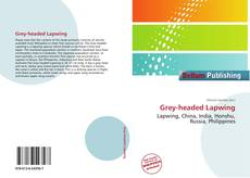 Bookcover of Grey-headed Lapwing