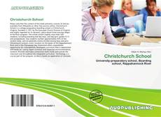 Bookcover of Christchurch School