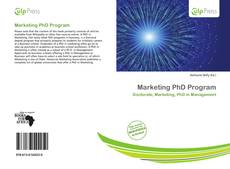 Обложка Marketing PhD Program