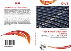 Bookcover of 1986 Kansas City Chiefs Season