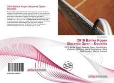 Bookcover of 2010 Banka Koper Slovenia Open – Doubles
