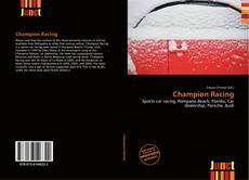 Capa do livro de Champion Racing