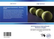 Copertina di 2010 Brisbane International – Women's Singles