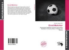 Capa do livro de Ernst Melchior