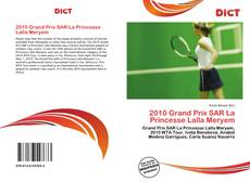 2010 Grand Prix SAR La Princesse Lalla Meryem kitap kapağı