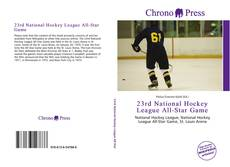 Copertina di 23rd National Hockey League All-Star Game