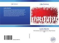 Buchcover von Leslie Martin