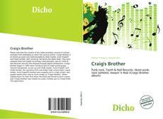 Craig's Brother的封面