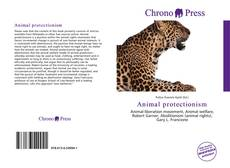 Capa do livro de Animal protectionism