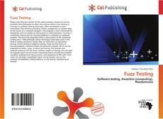 Borítókép a  Fuzz Testing - hoz