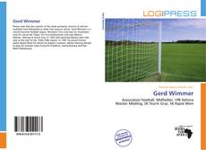 Bookcover of Gerd Wimmer