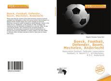 Capa do livro de Boeck, Football, Defender, Boom, Mechelen, Anderlecht