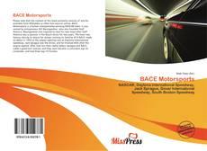 BACE Motorsports kitap kapağı