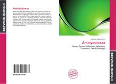 Capa do livro de Amblyodipsas