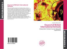 Bookcover of Council of British International Schools
