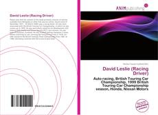 Capa do livro de David Leslie (Racing Driver)