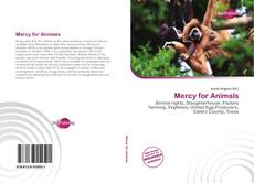 Bookcover of Mercy for Animals