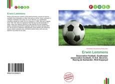 Buchcover von Erwin Lemmens