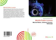 Bookcover of Mozilla Public License