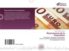 Recensement de la Population kitap kapağı