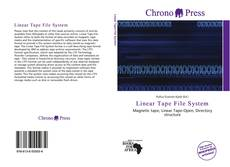 Обложка Linear Tape File System