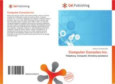 Computer Consoles Inc. kitap kapağı