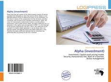 Bookcover of Alpha (investment)