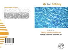 Istituto Italiano di Cultura kitap kapağı