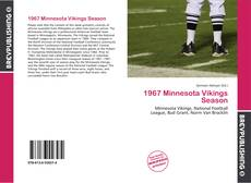 Buchcover von 1967 Minnesota Vikings Season