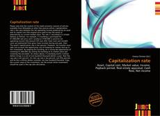Bookcover of Capitalization rate