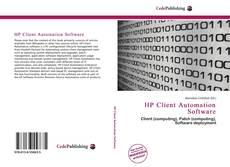 Capa do livro de HP Client Automation Software
