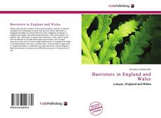 Portada del libro de Barristers in England and Wales